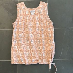 Columbia Sleeveless Top Blouse Small S